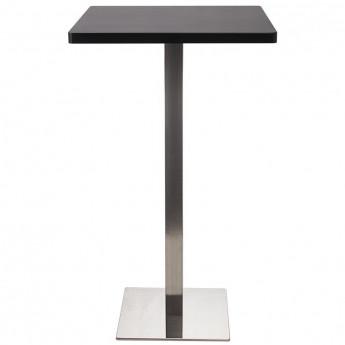 Table de Bar Table Bistro en MDF noir 60x60x105 M-BT60H/2349