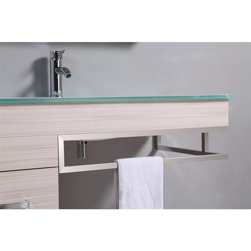 Ensemble meuble salle de bain gabi en couleur ch ne for Meuble salle de bain en chene