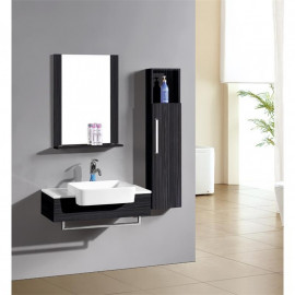 Ensemble meuble salle de bain Cologne Wengé