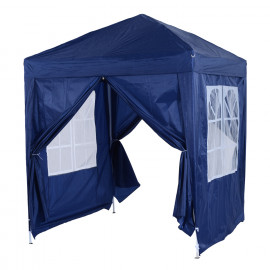 Tonnelle Tente de Réception pliante anti-UV BALI Bleu Marine