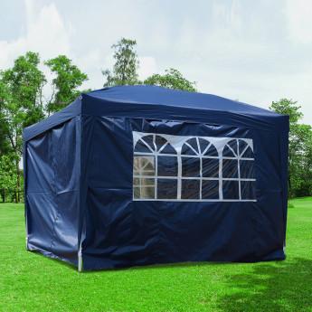 tonnelle tente de r ception tonnibulax bleu. Black Bedroom Furniture Sets. Home Design Ideas