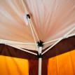 Tonnelle Tente de Réception Tonnebulax couleur café