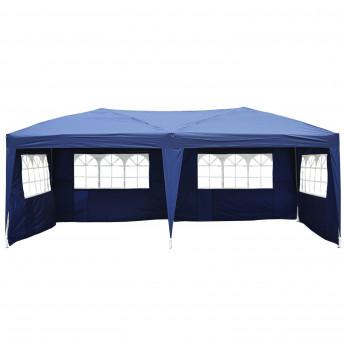 tonnelle tente de r ception aveo bleue. Black Bedroom Furniture Sets. Home Design Ideas