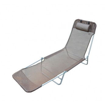 Chaise Longue Pliante Beauty Chocolat