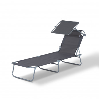 Chaise longue pliante Bavara