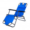Chaise jardin LUNA Bleue