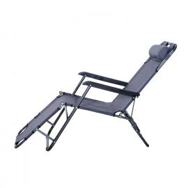 Chaise longue de jardin MEXICO Grey
