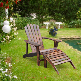Fauteuil de jardin en bois naturel – WOODY