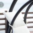 Fauteuil suspendu Bali blanc