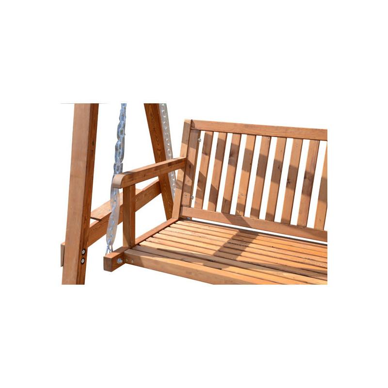 balancelle de jardin kania en bois de pin. Black Bedroom Furniture Sets. Home Design Ideas