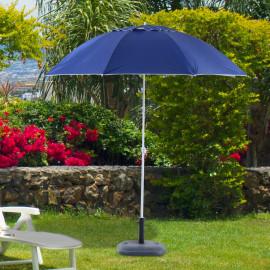 Parasol de plage SUNBE bleu