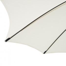 Parasol SUNNY Crème et Noir