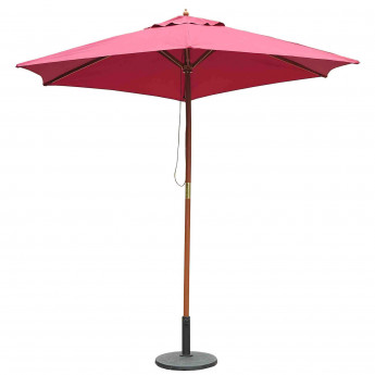 "Parasol ""GOA"" rouge"