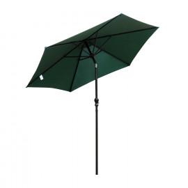 Parasol inclinable Tropico Vert et Noir