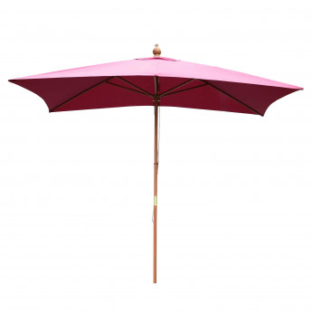 "Parasol ""New Dehli"" rouge"