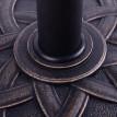 Pied de parasol ROSACE bronze