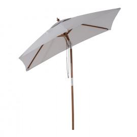 Parasol BAMBOU gris clair