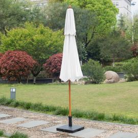 Parasol Droit CARVEX blanc