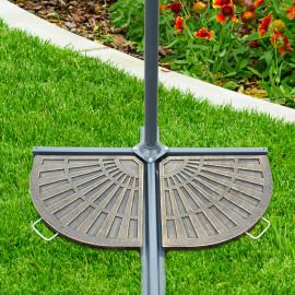 Poids de lestage de parasol Alexandrie bronze