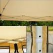Tonnelle de jardin SUNSET avec moustiquaires