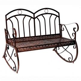 banc à bascule vintage antique WESTERN cuivre