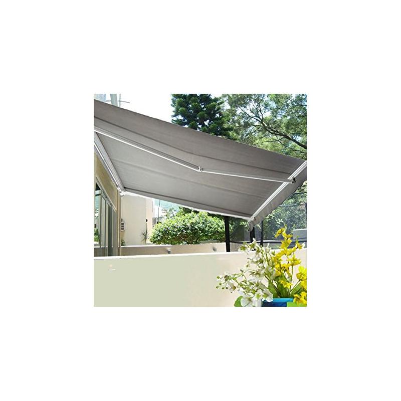 store banne de jardin et terrasse chouca gris. Black Bedroom Furniture Sets. Home Design Ideas