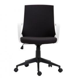 Chaise de bureau PAZ Noir et Blanche