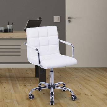 Chaise de bureau WHITE Blanc