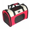 Petit sac de transport pour petits animaux Rouge-Rose/Noir