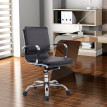 Chaise/Fauteuil de bureau Ikarvum noir