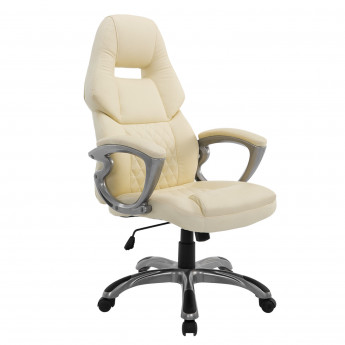 Fauteuil de bureau Gaming Racing PLAYER pivotant en simili cuir