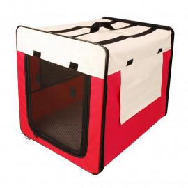 Sac de transport/Niche pour animaux Rouge/Beige