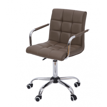 Chaise de bureau BROWN Blanc