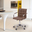 Chaise de bureau BROWN Blanc
