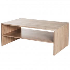 Table Basse 100 x 59 x 40 cm Chêne