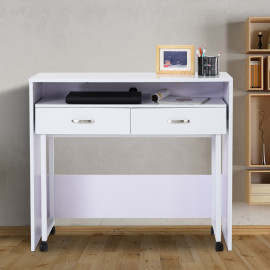 Table/Bureau TWIXY blanc