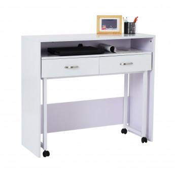 Table/Bureau TWIXY blanc