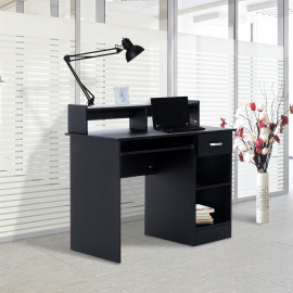 Bureau informatique XL noir