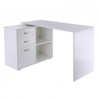 Bureau modulable Solibac blanc