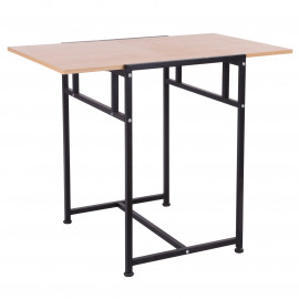 Table informatique pliable FLEXO – Noir