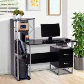 Bureau informatique Edwynn noir