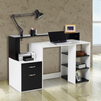 Bureau informatique – Noir et Blanc