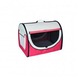 Sacoche/Sac de transport Moderna pour chien et chat Beige/Rouge