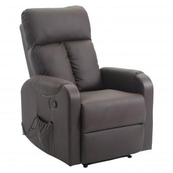 Fauteuil de massage électrique KYO (couleur brune)