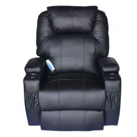 Fauteuil de massage Kybla noir