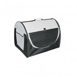 Sacoche/Sac de transport Moderna pour chien et chat Noir/Gris
