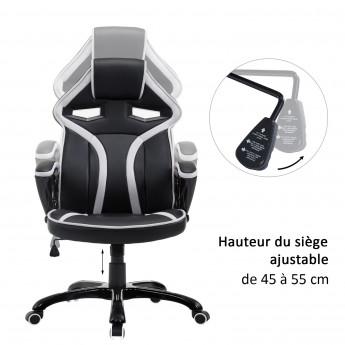 Chaise de Bureau Gamer Racing Sport
