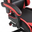 Fauteuil de Bureau Chaise Gamer Rouge