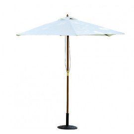 Parasol bois blanc – COCKTAIL – Blanc