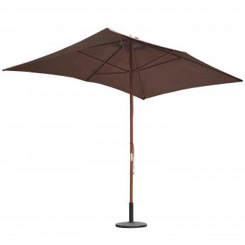 Parasol BAMBOU Marron